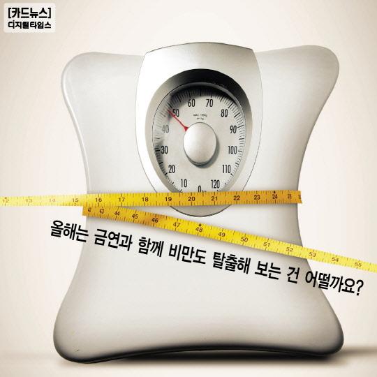 [카드뉴스] 살찐 사람이 늘고 있다 비만 해결 방법은?